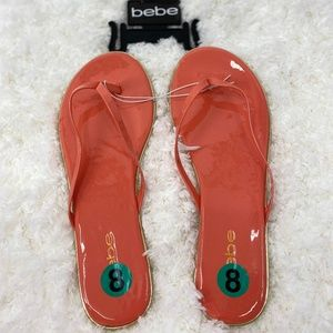 Bebe Sandals Slides Flip Flops Size 8 NEW